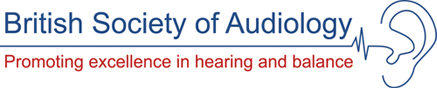 british society of audiology logo