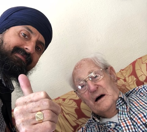 Guru Hearing Care's oldest patient becomes a centenarian!