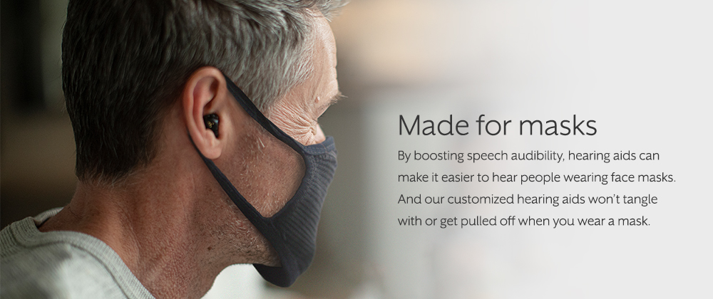 How hearing aids help when we're wearing masks